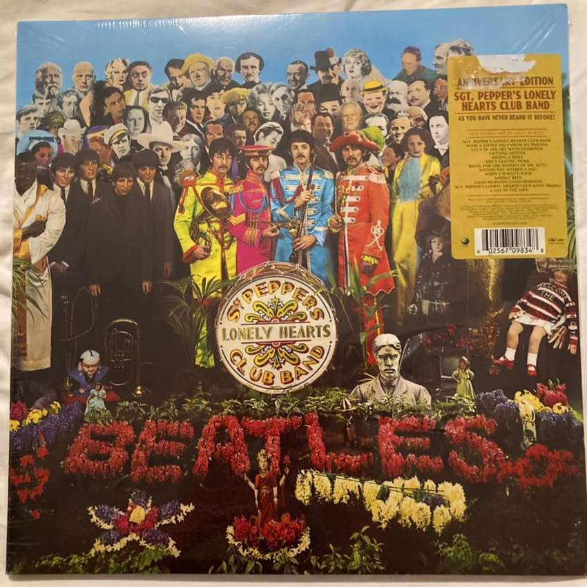 The Beatles - Sgt. Pepper Lonely Hearts Club Band LP VINILO 0