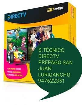 Servicio tcnico DIRECTV PREPAGO SJLURIGANCHO