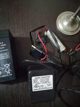 Baterías con cargador