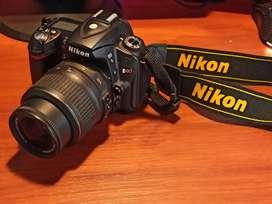 Cámara Profesional Réflex Nikon D90 Con Accesorios LEER DETALLADAMENTE