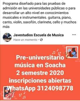 Clases de música en Soacha