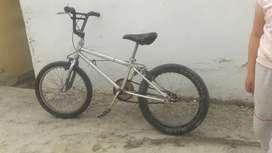 Ganga linda bicicleta