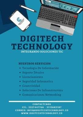 Soporte técnico en tecnología
