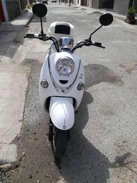 moto electrica vintage