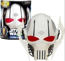 Máscara Casco Star Wars General Grievous Con Sonido Y Frases