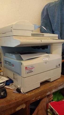 Fotocopiadora, Impresora Mp201