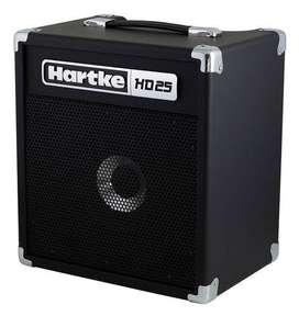 Amplificador Bajo Hartke Hd25 Planta De Bajo Hartke Hd25