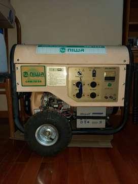 GENERADOR GRUPO ELECTRÓGENO NIWA GNW-70-ER