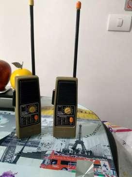 Radios de comunicación general electric walkie talkie