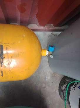 Tanque de gas para auto