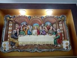 Cena del señor con reflectores 93x56