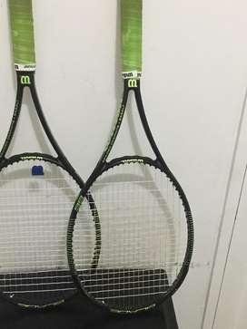 Raquetas wilson blade 98 profesionales