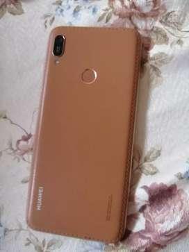 Vendo Huawei y6 2019 golden de cuero