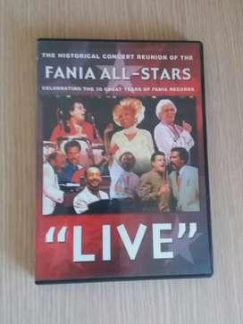 DVD de la Fania All Stars en Concierto Original