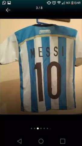 Camiseta Messi ARGENTINA talle 2