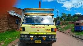Vendo camión marca Mitsubishi motor 4D 31 con turbo