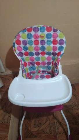 Mesa de comer de bebe