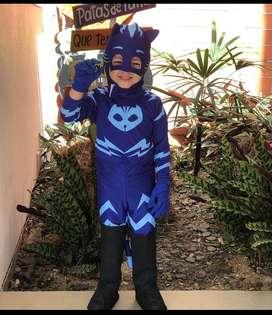 disfraz catboy héroes en pijama