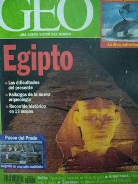 Revista Geo EGIPTO perfecta 2002