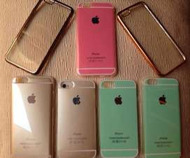 Funda Silicona Colores Pasteles iPhone 5,6,6plus