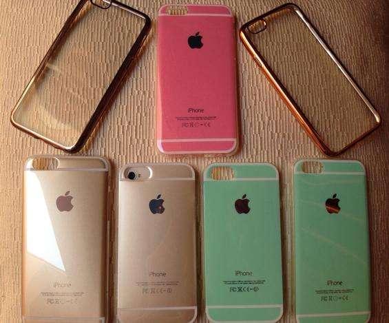 Funda Silicona Colores Pasteles iPhone 5,6,6plus