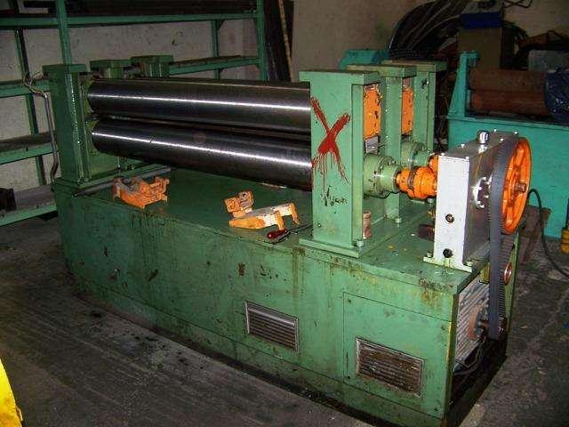 Laminador duo doble 1250mm para plomo-aluminio-cobre
