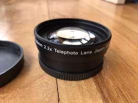 Lente telephoto 2.2x