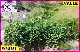 CxC Venta Terreno, Monjas, Valle, Exp. 8231