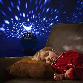 Proyector luna y estrellas lámpara de estrellas