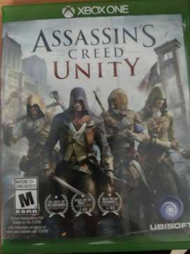 Vendo Cambio Assasins Creed Unity para Xbox One en perfecto Estado