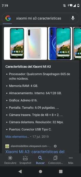 Vendo Xiaomi mi a3