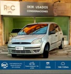 Ford Fiesta Ambiente 1.6L c/GNC '06 - Muy buen estado!