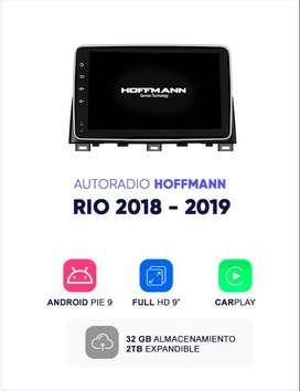 "Autoradio Hoffmann Homologado Kia Rio 2018 - 2019 9"" Android 9.11"