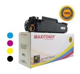 Toner Hp 125a / Color Laserjet Cb540a Cb541a Cb542a Cb543a