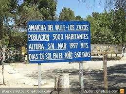 TERRENO de 2.700 m2. en AMAICHA del VALLE a 700 m de la Plaza.