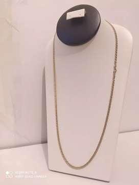 Cadena en oro italiano de 18k garantizado