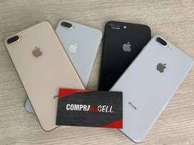 iPhone 8 Plus 64GB Para registrar de exhibición