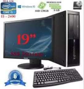 Oferta computadores core i5 para, estodio webcam o trabajos gráficos con garantía 6 meses