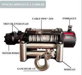 Otavalo Wincha hidraulica winche para servicio de gruas plataformas autocargables12.000 libras 5.4 toneladas