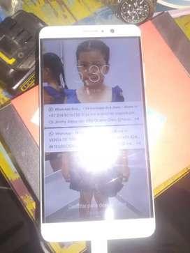 Huawei mate 9 color plata estado físico 7 de 10 por uso , maquinaríamente muy bien