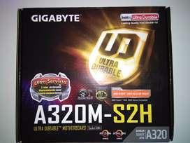 Gigabyte a320m s2h