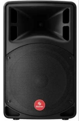 PArlante Profesional Bluetooth 12 2100 W (Radio FM/AM, USB, SD Card, Entrada Micrófono, Audioanálogo(rojo-blanco))