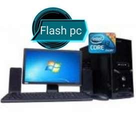Oferta Computadores Core I3 con monitor 19 y Garantía