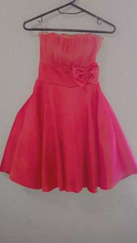 Vestido estilo princesa rosado
