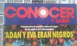 Antigua Revista Conocer Y Saber