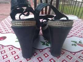 Vendo Sandalias De Cuero