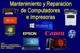 Reparación Computadores Impresoras