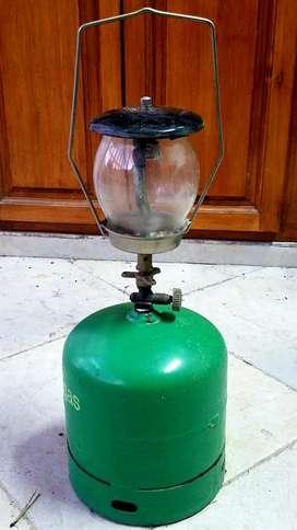 Faro a gas con Garrafa