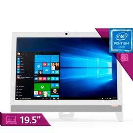 """Computador All in One LENOVO 310 Intel Pentium  19.5"""" Pulgadas  Disco Duro 1Tb"""