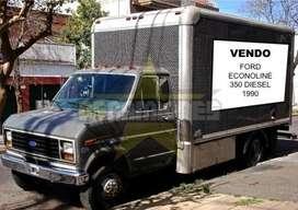 Camion Ford Econoline 350 Americano Diesel. Pala Hidraulica